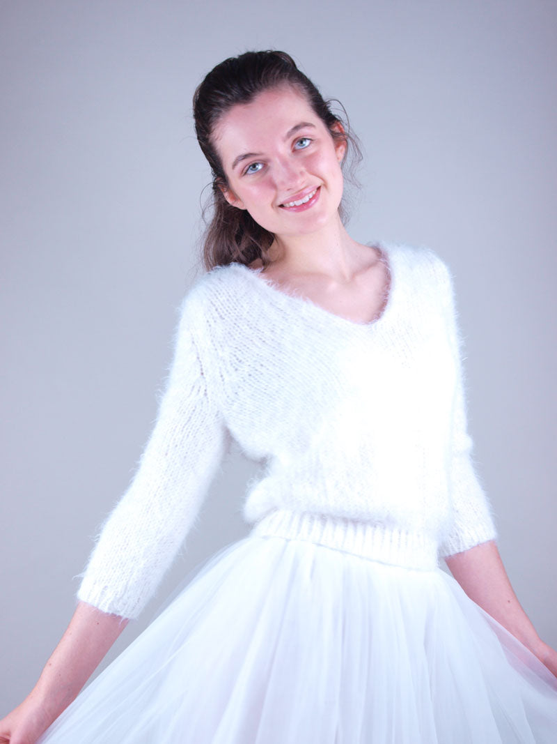 bridal knit wear made with love