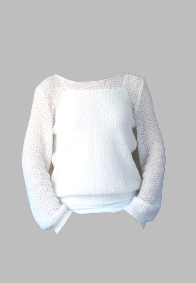 Knit Pullover Bell for your wedding skirt or dress