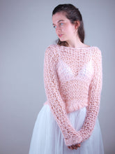 Load image into Gallery viewer, Bridal knit couture sweater USA