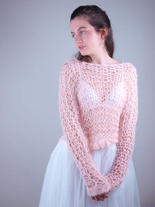 Bridal knit couture sweater USA
