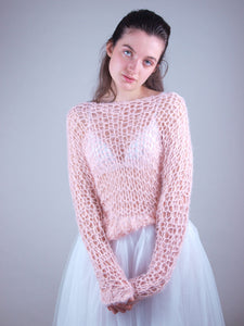 Bridal knit couture sweater france