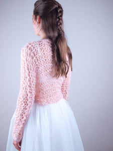 Bridal knit couture sweater Monaco