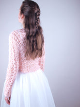 Load image into Gallery viewer, Bridal knit couture sweater dubai