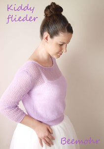 Wedding Knit Sweater lilac for your wedding dress
