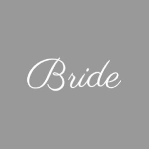 writing bride print for denim jackets