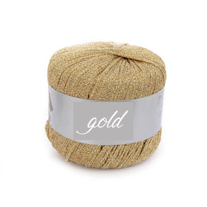 Golden Bolero knitted for your wedding