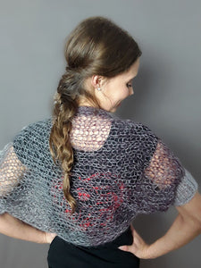 soft knit bolero for jeans or evening dress