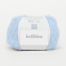 Load image into Gallery viewer, fluffy light blue wool