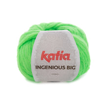 Load image into Gallery viewer, Knitting your colourful sweater with ingenious big neon green
