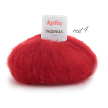 Load image into Gallery viewer, bolero knitted in red mohair order online
