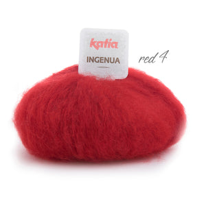 bolero knitted in red mohair order online