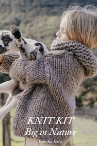 knit pullover for little girls for knitting yourself
