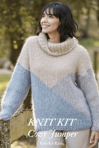 DIY knit your sweater with ingenua mohair wool in corona times