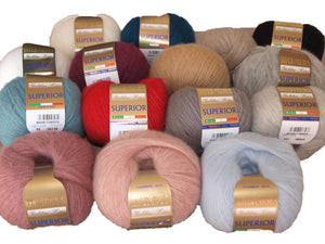 cashmere wool from filatura di crosa for knitting