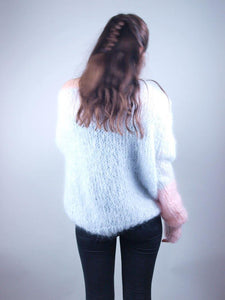 Ordering online in corona times knit jumper