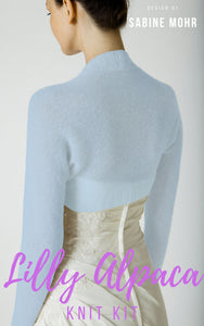 Knit your own bridal jacket for your bridal gown