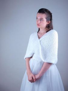 Bridal knit wear made in Germany beemohr