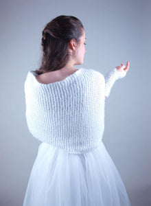 Bridal Loop knitted for your wedding dress