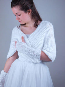 Knit Loop knitted for your wedding gown
