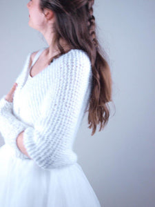 Bridal Coverup knitted for your wedding gown