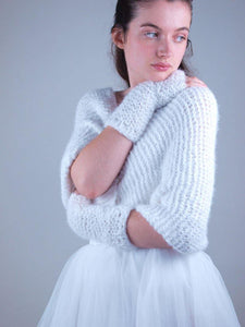 Bridal knit Loop knitted for your wedding skirt