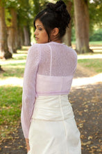 Load image into Gallery viewer, cashmere wedding cardigan for bridal gowns ivory, blush and white