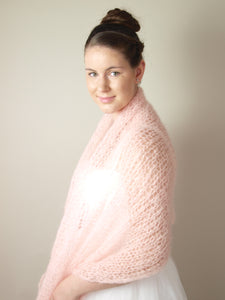 knit pashmina for brides