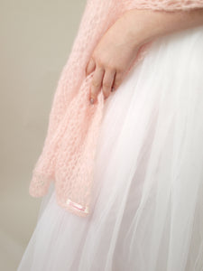 knit scarf for brides