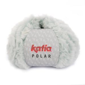 Knit Kit: Fur look vest with yarn from Katia