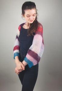 knit bolero in many colours