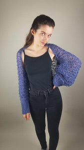 Knit couture bolero jacket from beemohr