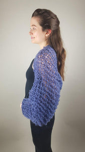 Beemohr knit couture loose handknitted jacket