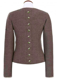 Traditional jacket BALTIK in brown from spieth & wensky edelweiß