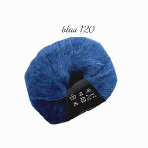 Baby Alpaca with silk from lanartus order online blue