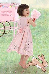 Rose summer dress for girls aged from 1 to 5 years old from belle & boo