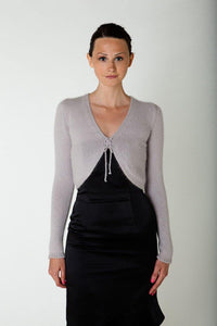 Cardigan knitted for evening dresses