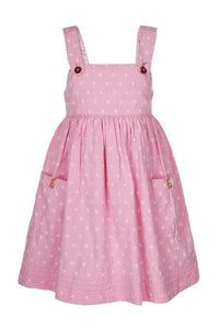 Dress for girls in rose from belle and boo