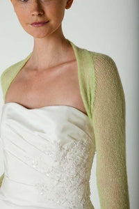 We knit for your wedding cashmere jacket