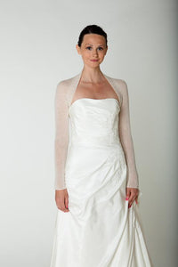 Getting married in a bridal bolero ivory and white for Bridel gowns