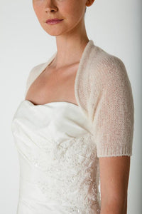 Wedding knit couture for bridal gowns ivory