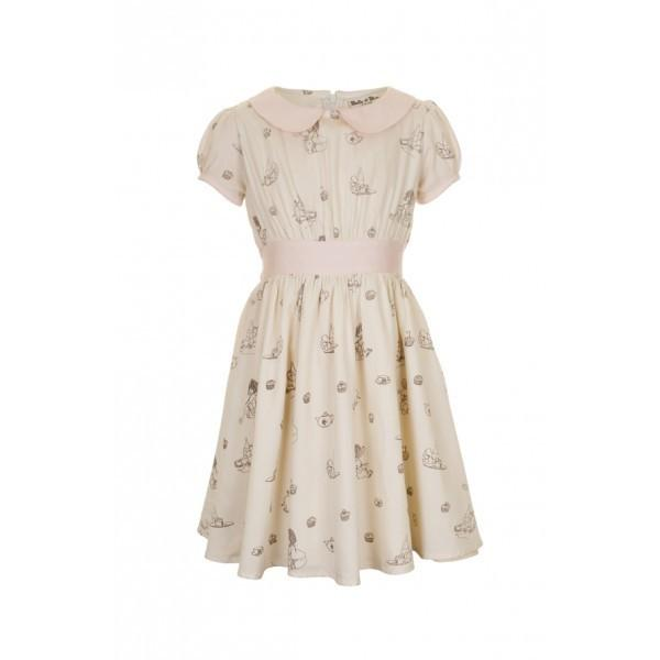 Flower Girl's dress in ivory from belle and boo