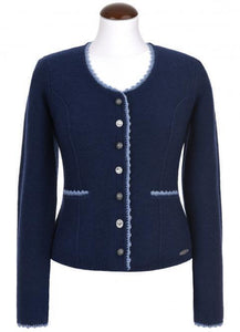 Traditional jacket BALTIK in blue for dirndl and jeans