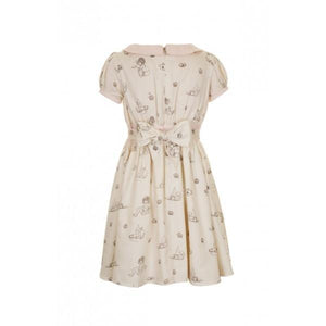 Summer Girl's dress in ivory from belle and boo
