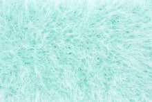 Load image into Gallery viewer, Bridal cardigan in fur look pale blue for your wedding