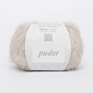 Haute Couture knitted Loop powder