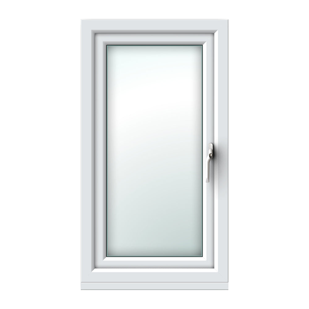 White side hung window