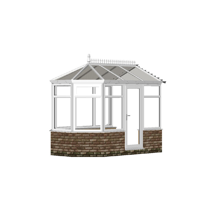 Victorian Conservatory with POLY ROOF