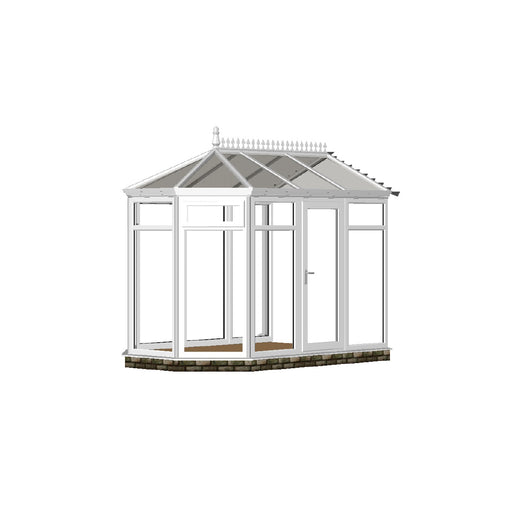 Full height Victorian Conservatory with GLASS ROOF