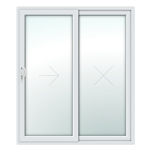 2 Pane Patio Door - White