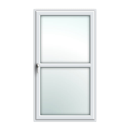 White Tilt & Turn window with dummy transom bar